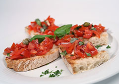 Catering in Hamburg - Bruschetta